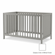Nest Milano Classic Crib in White