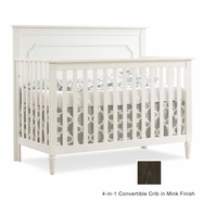 Nest Provence Convertible Crib in Mink