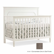 Nest Provence Convertible Crib in Owl