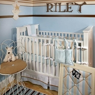 Beachside Crib Bedding Collection by New Arrivals