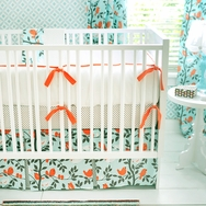 Feather Your Nest in Aqua Bedding Collection by New Arrivals