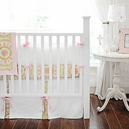 Heart of Gold Crib Bedding Collection by New Arrivals