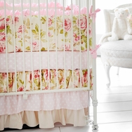 In Full Bloom Crib Bedding Collection by New Arrivals