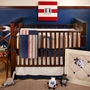 New Arrivals Snips and Snails 3 Piece Crib Bedding Set
