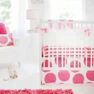 Spot on Fuschia Bedding Collection by New Arrivals