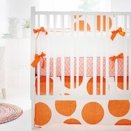 Spot On Tangerine Bedding Collection by New Arrivals