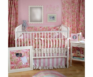 New Arrivals Tutti Fruitti 4 Piece Baby Crib Bedding Set