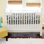 New Arrivals Urban Zoo 3 Piece Crib Set in Blue