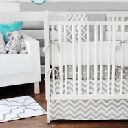 New Arrivals Zig Zag Baby 4 Piece Nursery Set