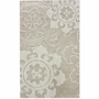 nuLOOM Kinderloom Alpha Hand Tufted Area Rug in Ivory