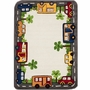 nuLOOM Kinderloom Around Town Hand Tufted Area Rug in Ivory