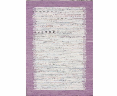 nuLOOM Kinderloom Flatweave Tasha Cotton Area Rug in Sunshine