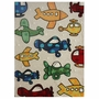 nuLOOM Kinderloom Planes Hand Tufted Area Rug in Natural