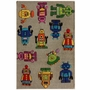 nuLOOM Kinderloom Roboto Hand Tufted Area Rug in Grey
