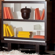Nursery Works Single Storytime Bookcase in Snow with Dark Frame