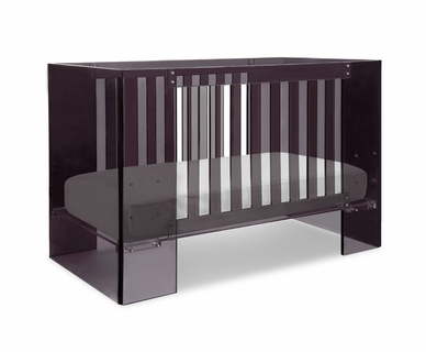 Nursery Works Vetro Acrylic Crib in Shadow
