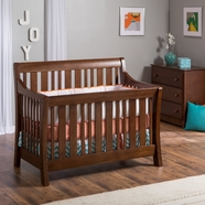 Nurserysmart Darby Convertible Crib in Coco
