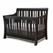 Nurserysmart Darby Convertible Crib in Espresso
