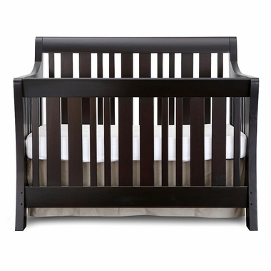 NurserySmart Darby Convertible Crib in Espresso - Click to enlarge