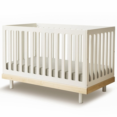 Oeuf Classic Collection Crib in Birch - Click to enlarge