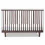 Oeuf Rhea Crib in Walnut and White