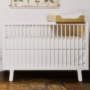 Oeuf Sparrow Crib Sets in White