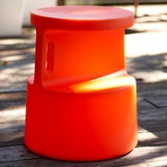 Offi Tote Table in Orange