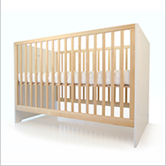 Oliv Crib Collection by Spot On Square