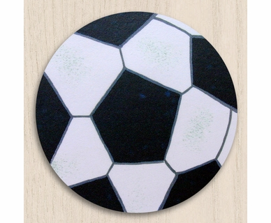 One World Kids Soccer Set of 4 Drawer Knobs