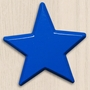 One World Kids Star Primary Blue Set of 4 Drawer Knobs