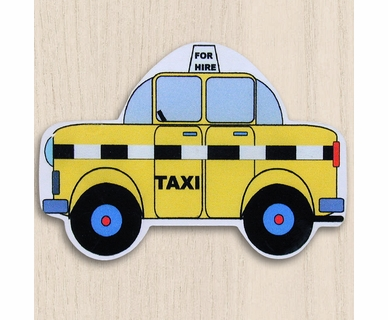 One World Kids Taxi Set of 4 Drawer Knobs