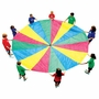 Pacific Play Tents 30 Ft Parachute With Handles And Carry Bag