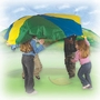 Pacific Play Tents 45 Ft Parachute With Handles And Carry Bag