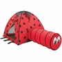Pacific Play Tents Ladybug Tent & Tunnel Combination