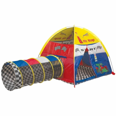 Pacific Play Tents Rad Racer Pitstop Tent Amp Tunnel Combo