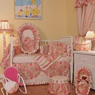 Paisley Crib Bedding Collection by Hoohobbers