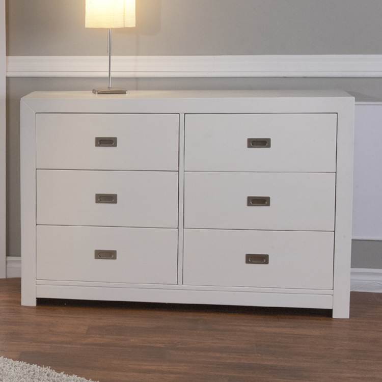 Pali 2 Piece Nursery Set   Imperia Forever Crib And Double Dresser In White  FREE SHIPPING