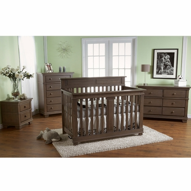 Pali 2 Piece Nursery Set Torino Forever Crib And Double