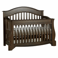 Pali Bergamo Convertible Crib in Earth