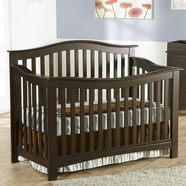 Pali Bolzano Convertible Crib in Earth