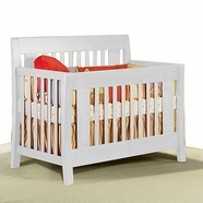 Pali Emilia Convertible Crib in White