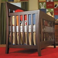Pali Emilia Convertible Crib in Vintage Cherry