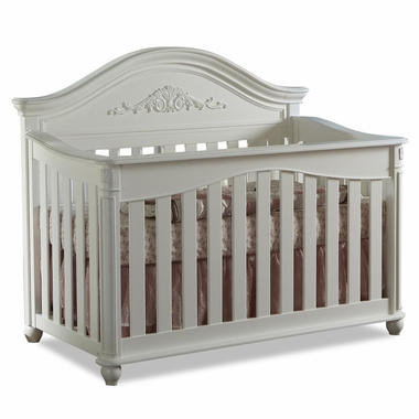 Pali Gardena Forever Crib In White   Click To Enlarge