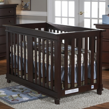 Pali Lucca Convertible Crib In Mocacchino Free Shipping