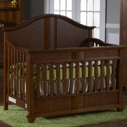 Pali Onda Forever Crib in Walnut