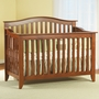 Pali Salerno Convertible Forever Crib in Sienna