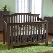 Pali Salerno Crib in Slate