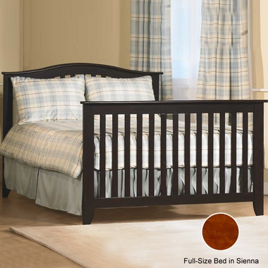 Pali Salerno Full Size Rail Kit in Sienna - Click to enlarge