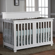 Pali Torino Convertible Crib in White