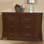Pali Trieste Double Dresser in Vintage Cherry